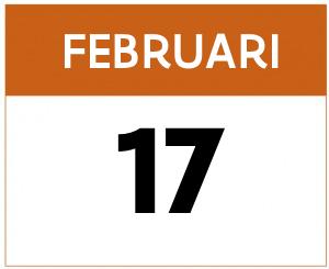 kalender 17 februari
