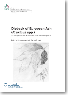 "cover boek ""Dieback of European ash"""