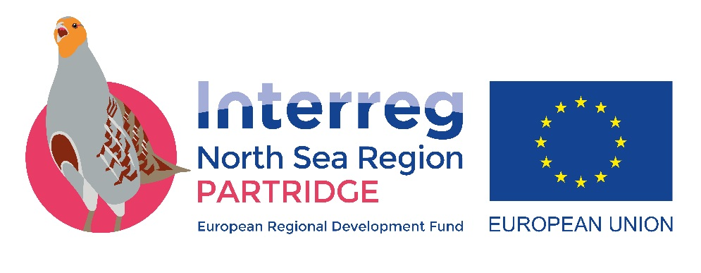 Logo van het Interreg project PARTRIDGE