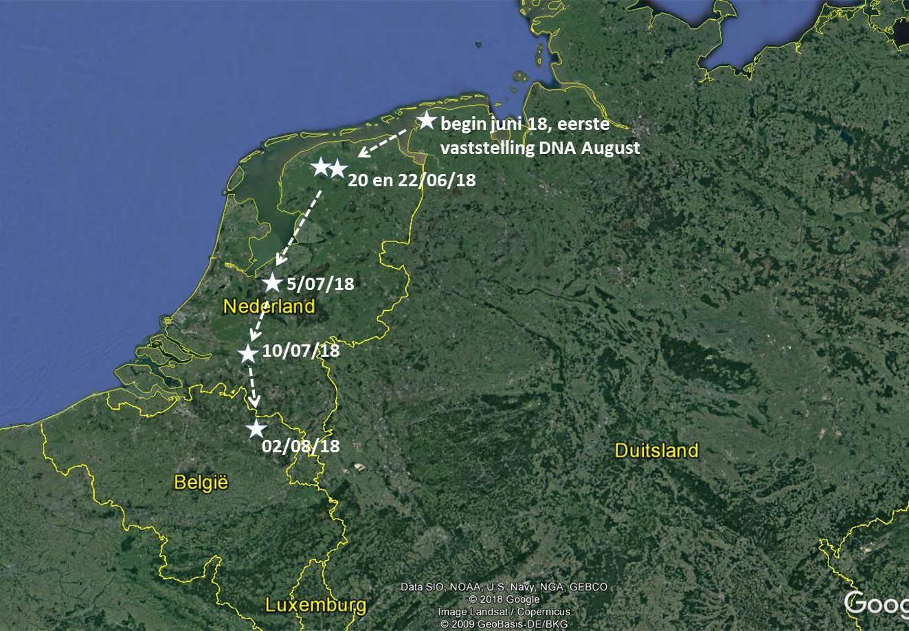 Route van August