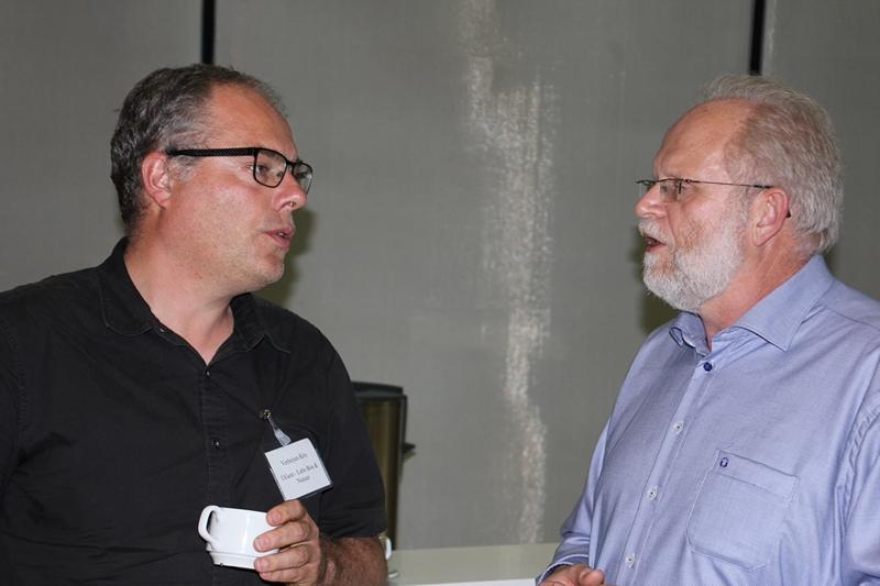 Kris Verheyen en Joris Van Acker