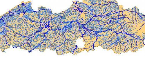 afbeelding bij stroombekkens