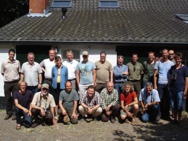 foto van deelnemers aan uitwisseling
