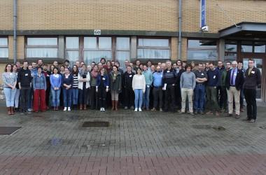 groepsfoto van de deelnemers