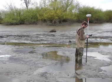 wetenschapper aan de Schelde