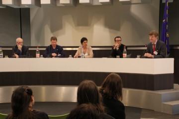 foto van panelleden