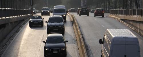 Verkeer veroorzaakt verzuring (foto INBO)