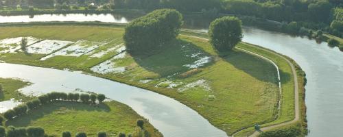 foto overstromingsgebied